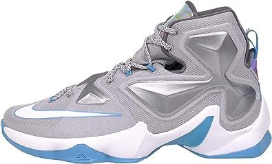 BLUE LAGOON-DARK GREY Basketball Shoe