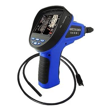 Industrial Vídeo Inspección Boroscopio 4 LED Cámara 3.5