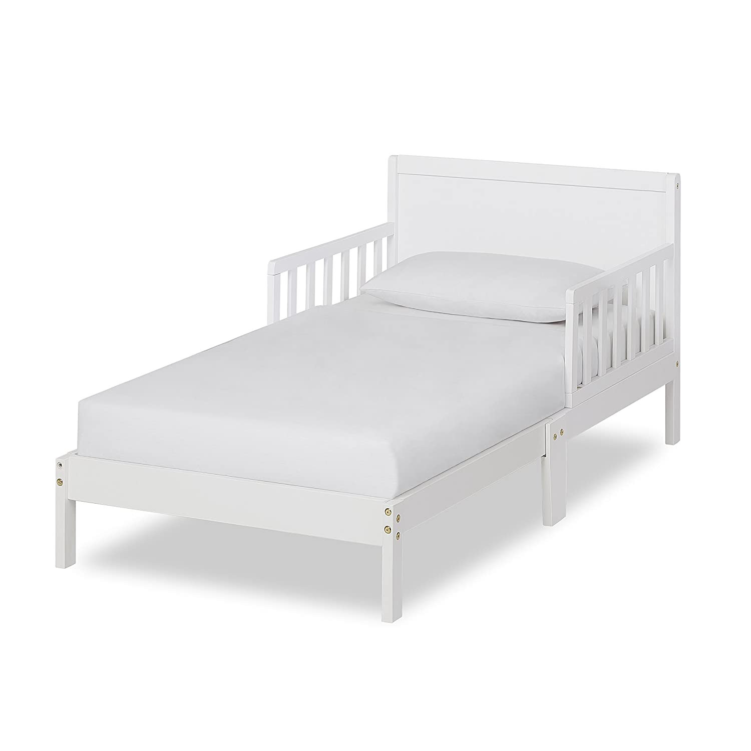Dream On Me Brookside Toddler Bed White