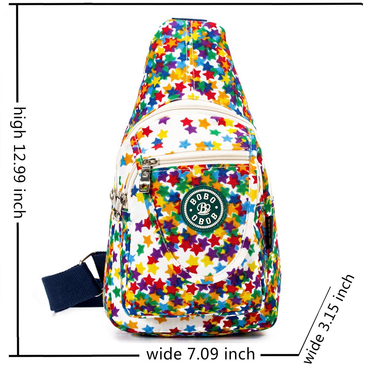 7e7eb033f8e0 Travel Crossbody Sling Bags for Women Single Waterproof Sling Shoulder  Backpack for Kids Girl - White  Amazon.ca  Luggage   Bags