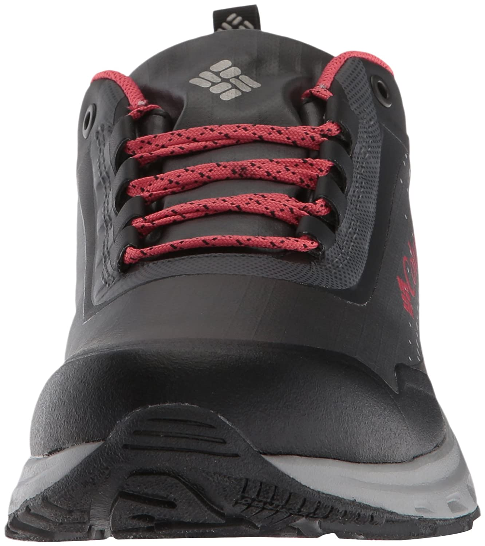 Columbia Women's Irrigon Trail Outdry Xtrm Hiking Shoe B073RN2FXD 9.5 B(M) US|Black, Sunset Red