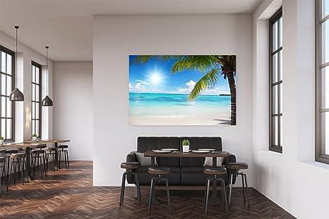 Cuadro PVC Playa Caribeña | Cuadros Modernos Baratos ...