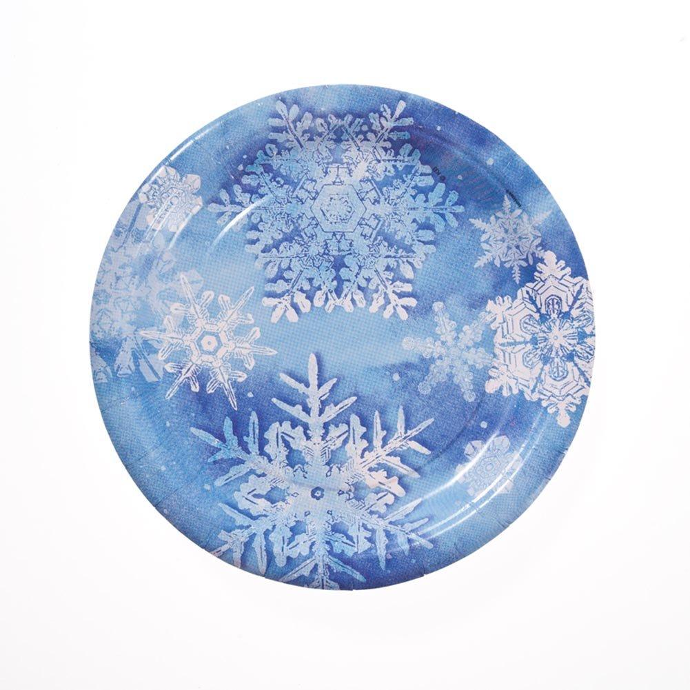 sc 1 st  Amazon.com & Amazon.com: Blue Snowflake 7 Plates: Toys u0026 Games