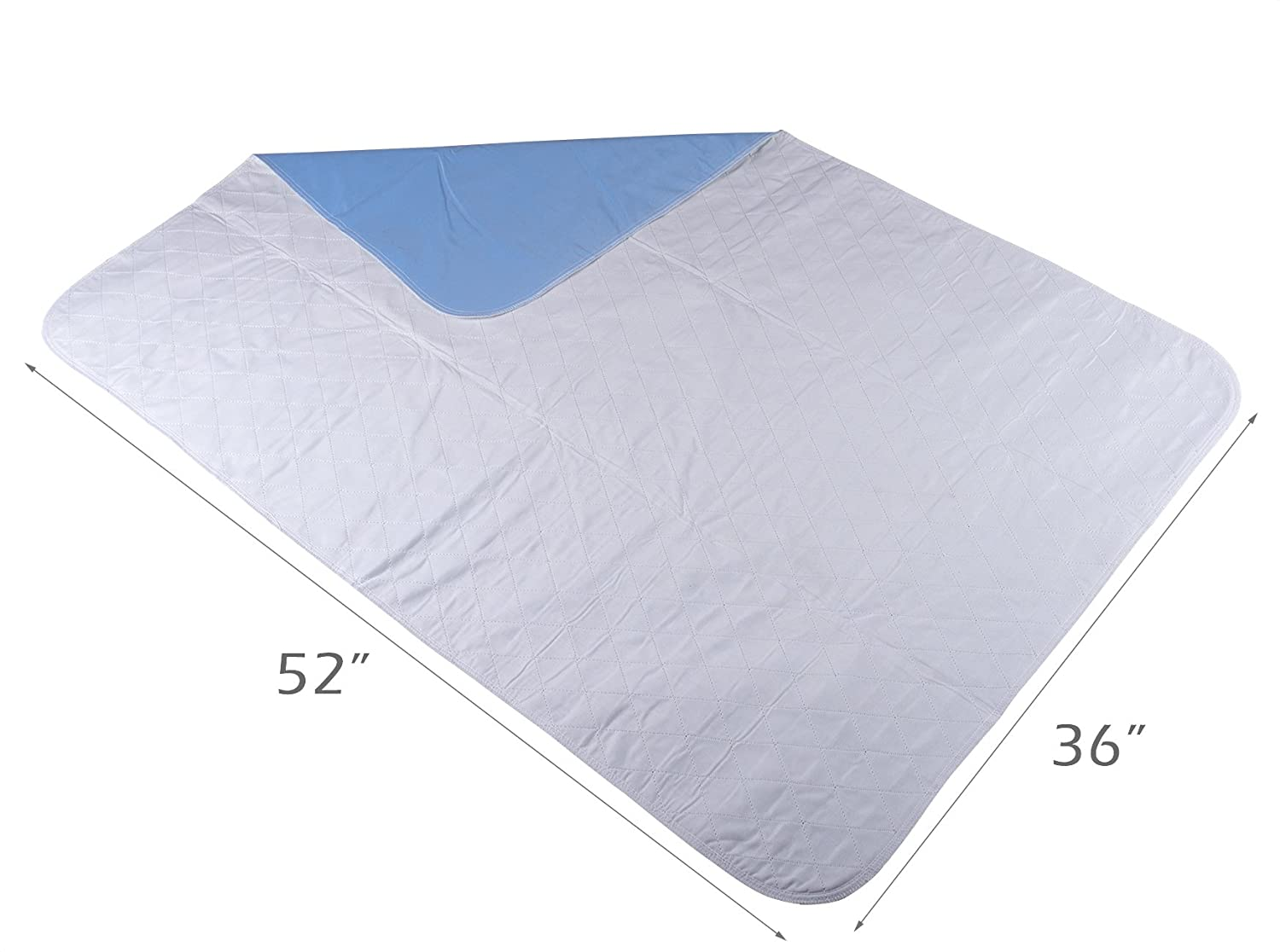 amazon com happynites bed mat bedwetting underpads washable 36x52