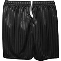 MyShoeStore Unisex PE Shorts Boys Girls Kids Children Adults Back to School Uniform Shadow Stripe Sports Gym Football Games P.E. Pull up Short