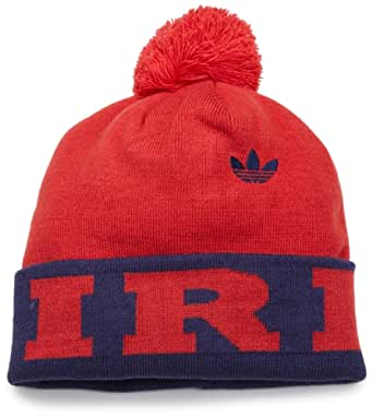 MLS Chicago Fire, Cuffed Pom Knit Hat, One Size Fits All, Red