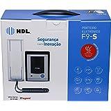 HDL F9, Porteiro Eletrônico com Siga-Me, Cinza