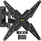 AM alphamount TV Wall Mount Full Motion Articulating Tilting TV Mount Bracket Swivel Extend Rotate for Most 26-55 Inch Flat C