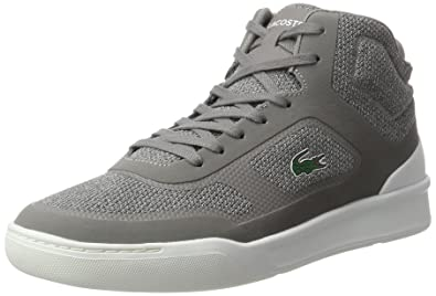 768151ebd Lacoste Men s Explorateur SPT Mid 317 2 High-top Trainers Grey (Gry ...