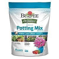 Deals on Burpee Organic Premium Potting Mix 8 Quart
