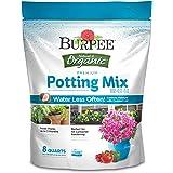 Burpee Organic Premium Potting Mix, 8 quart