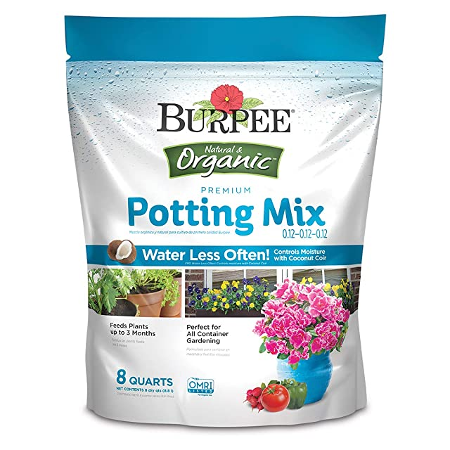 Burpee Organic Premium Potting Mix