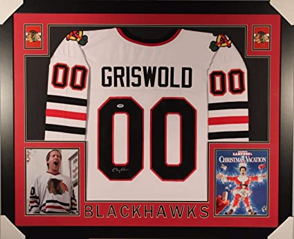 9cf3544a0 Chevy Chase Clark Griswold Autographed Signed Framed Matted ...