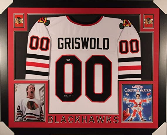 official photos cc60d 10aa6 Chevy Chase Clark Griswold Autographed Signed Framed Matted ...