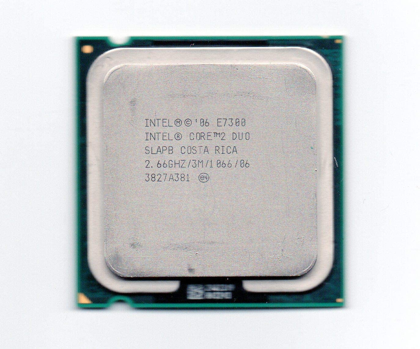 Intel Core 2 Duo E7300 CPU Processor Renewed SLAPB