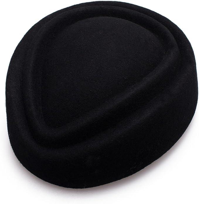 Lawliet Womens 100/% Wool Hostess Pillbox Hat Millinery Fascinator Base A137