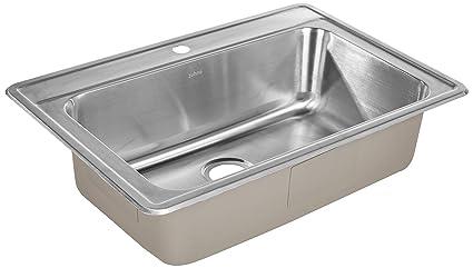 Amazon.com: ZUHNE - Fregadero de cocina de acero inoxidable ...