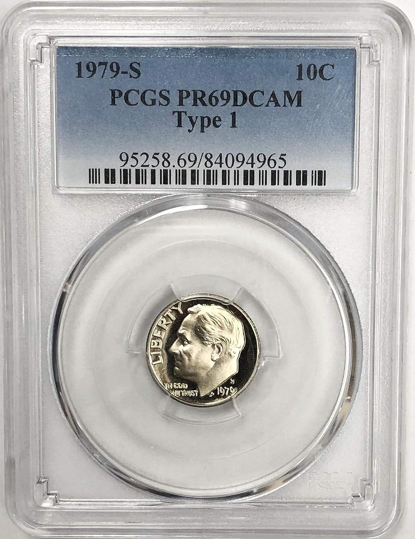 1964 Roosevelt Dime PCGS PR69CAM