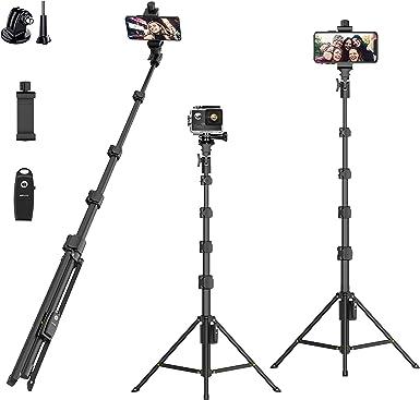Selfie Stick Telescópica Teléfono Cámara titular Disparador De Cable Para Iphone 6 5 5s