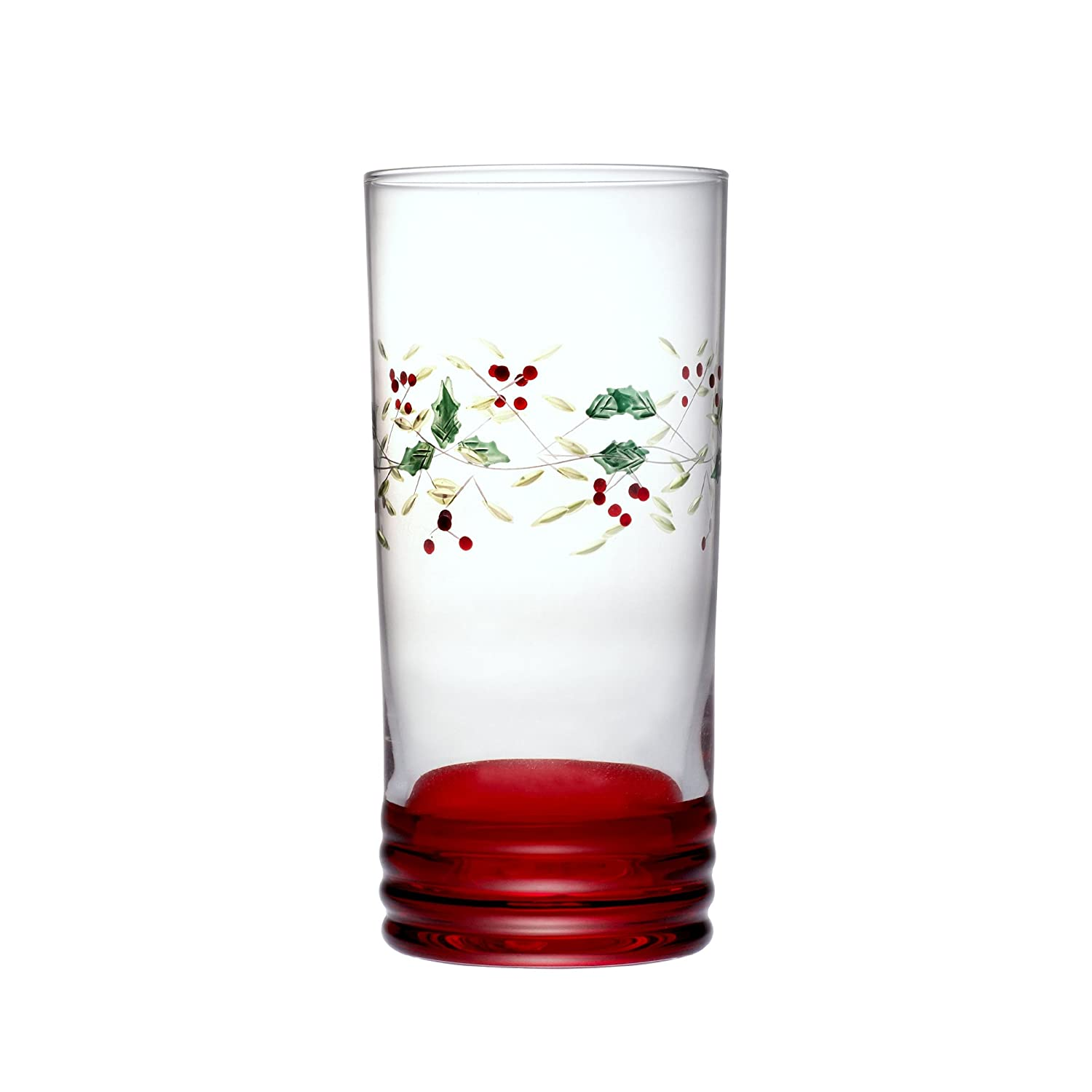 Pfaltzgraff Winterberry Cooler Glasses 20Ounce Set of 4