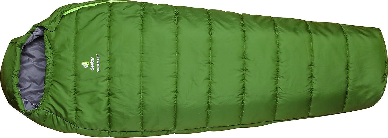 Saco de dormir Deuter StarLight SX niños - Bamboo/Kiwi: Amazon.es: Deportes y aire libre