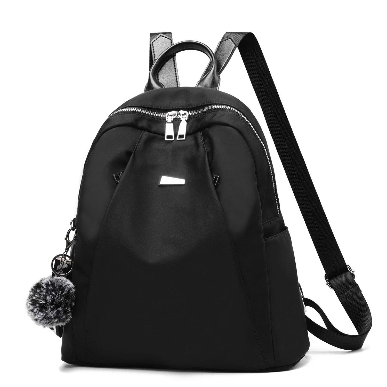 Women Backpack Purse Lightweight Waterproof Cloth Nylon Rucksack Girls Daily School Shoulder Bag