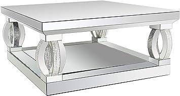 Amazon Com Coaster Home Furnishings Avonlea Square Coffee Table