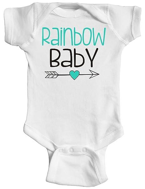 1b40890c8 Amazon.com: InkCallies Rainbow Baby, Baby Bodysuit, Baby Onesie, Baby  Clothes: Clothing