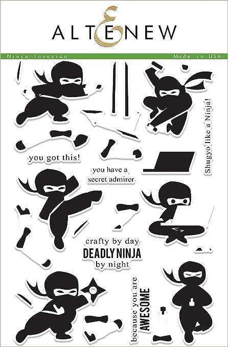 Amazon.com: Ninja Invasion Stamp Set