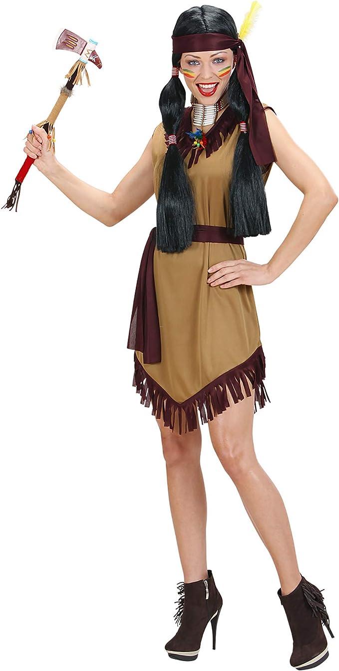 WIDMANN Widman - Disfraz de indio del oeste adultos, talla S ...