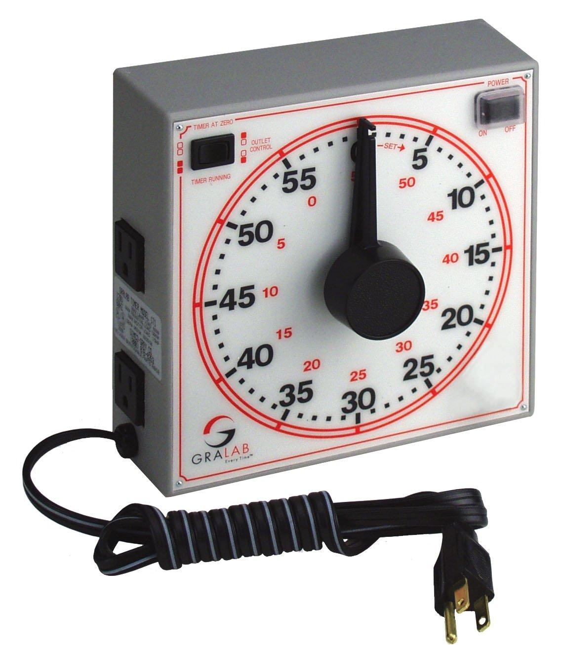 gralab model 171 60 minute general purpose timer 7 1 2 length x 7