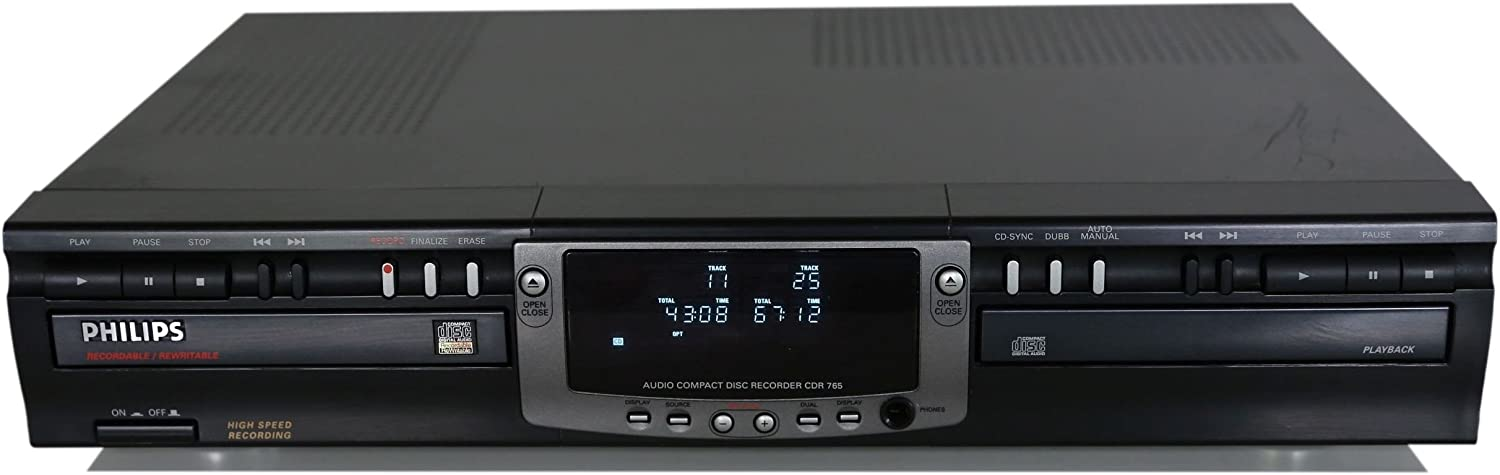 Philips CDR765 Audio Compact Disc Recorder