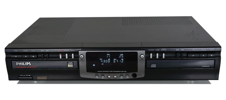 Amazon.com: Philips CDR765 Audio Compact Disc Recorder: Home Audio & Theater