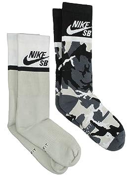 Nike U NK Energy Crew 2PR - GFX - Calcetines, Unisex Adulto: Amazon.es: Deportes y aire libre