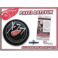 $186 » Signed Pavel Datsyuk Hockey Puck - #I84381 - JSA Certified - Autographed NHL Pucks