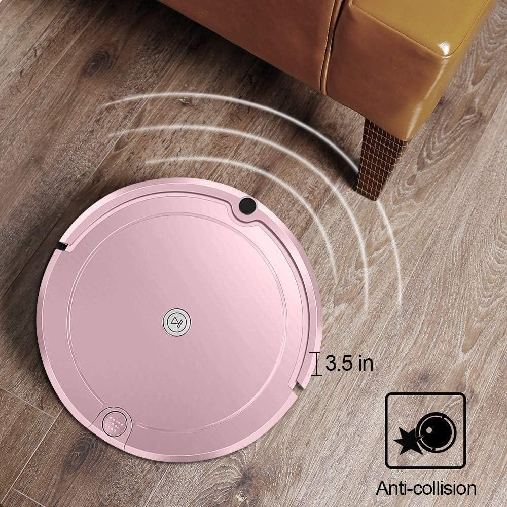 ZTKBG Rentable Robot de Balayage Infrarouge Intelligent Automatique Télécommande for Cheveux Tapis Pet Hard Floor Faible Bruit Surfaces 12.7x13x3.34 Pouces (Color : B) B