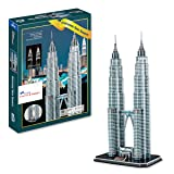 AMPERSAND SHOPS Petronas Twin Towers 3D Puzzle (86 Pcs)
