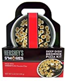 Hershey's Smores Deep Dish Brownie Pizza