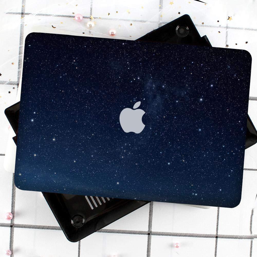 JK-2 Laptop Carcasa Funda para Macbook Pro 13 Inch Retina,Red Starry Sky Design Pattern Hard Shell Protective Funda Carcasa /& Keyboard Covers Compatible Macbook Pro 13 Retina A1502//A1425