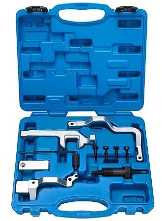 FreeTec Herramienta de bloqueo del árbol de levas tensor de cadena de herramienta para BMW,