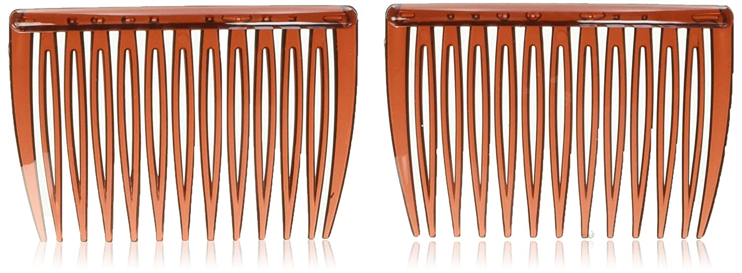 Goody Side Hair Combs, Mock Tortoise, 2-count : Hair Styling Products : Beauty