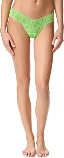 product image for hanky panky Women's Low Rise Thong, Kiwi, One Size