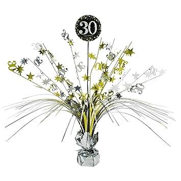 Net Toys Grosse Tischkaskade 30 Geburtstag Deko Kaskade Happy