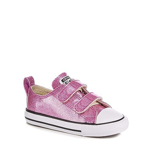Converse Kids Girls' Pink Glitter 'Chuck Taylor All Star
