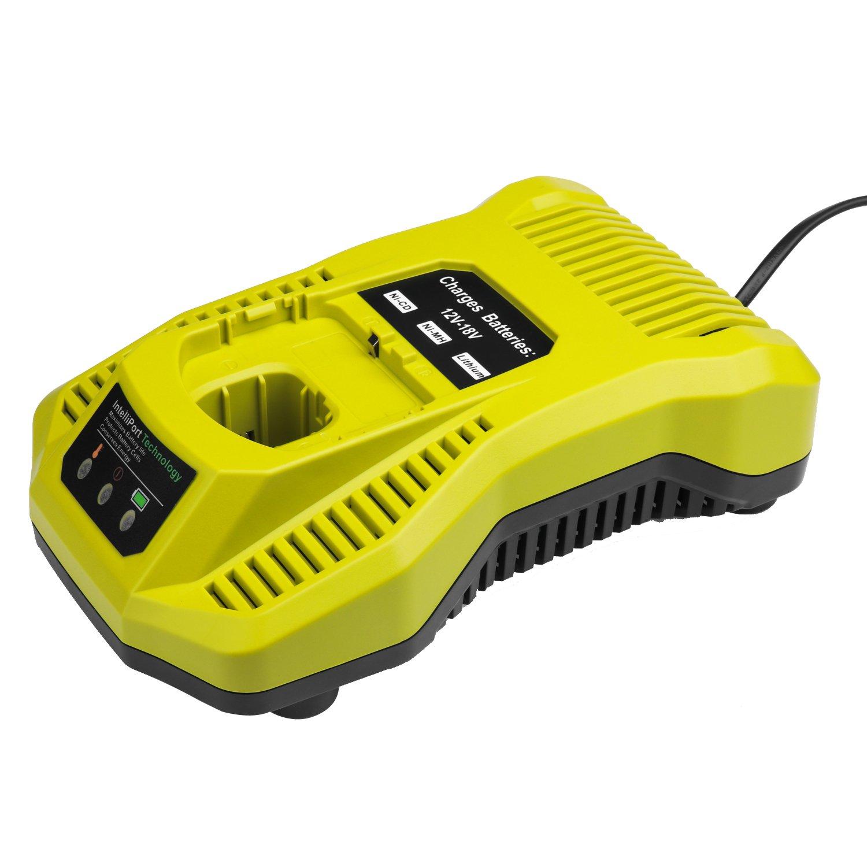 LaiPuDuo P117 Chargeur de batterie double chimie IntelliPort chargeur de remplacement pour Ryobi ONE Plus Li-ion Ni-cd Ni-MH 12V - batteries 18V MAX Shenzhen Chengxinqi Co. Ltd