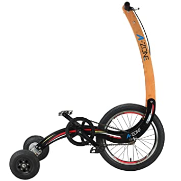 A-ZONE cyclette fitness bici bici piegante esterna Cyclette No sedile Sport Fitness Riding Bicycle