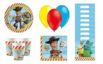 cumpleaños Toy Story - Kit de cumpleaños Toy Story - 8 Personas