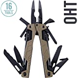 LEATHERMAN - OHT Multitool, Coyote Tan with MOLLE Black Sheath (FFP)