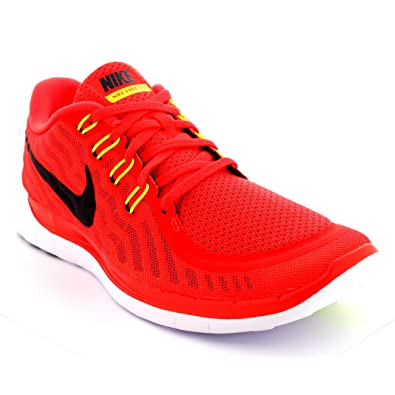 Nike Men s Free 5.0 Men s Running Shoes-724382-600-Size-9 UK  Buy Online at  Low Prices in India - Amazon.in df4db06b1378