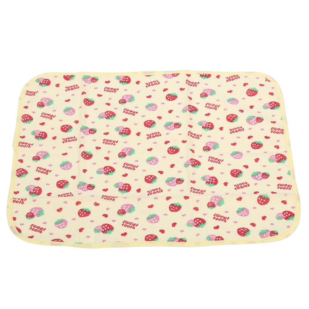 5 Types Newborn Cotton Baby Changing Urinal Replacement Mat Waterproof Cotton Cloth Diaper Inserts Changing Mat (L-Car) Fdit